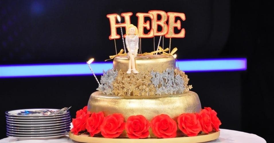 Hebe Camargo completa 82 anos na quinta-feira (8/3) e recebe homenagem dos familiares e amigos (5/3/12)