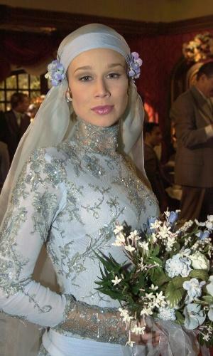 """Ana Francisca (Mariana Ximenes) se casa com Danilo (Murilo Benício) em """"Chocolate com Pimenta"""""""