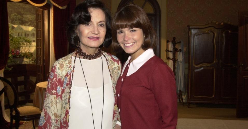 """Rosamaria Murtinho e Samara Felippo são Margot e Celina, respectivamente, em """"Chocolate com Pimenta"""""""