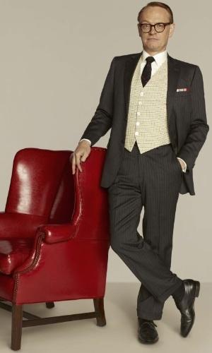 Lane Pryce (Jared Harris) em imagem da 5ª temporada de Mad Men