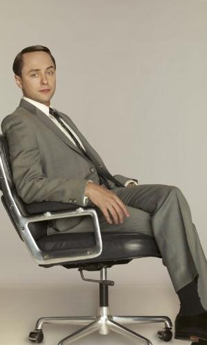 Pete Campbell (Vincent Kartheiser) em imagem da 5ª temporada de Mad Men