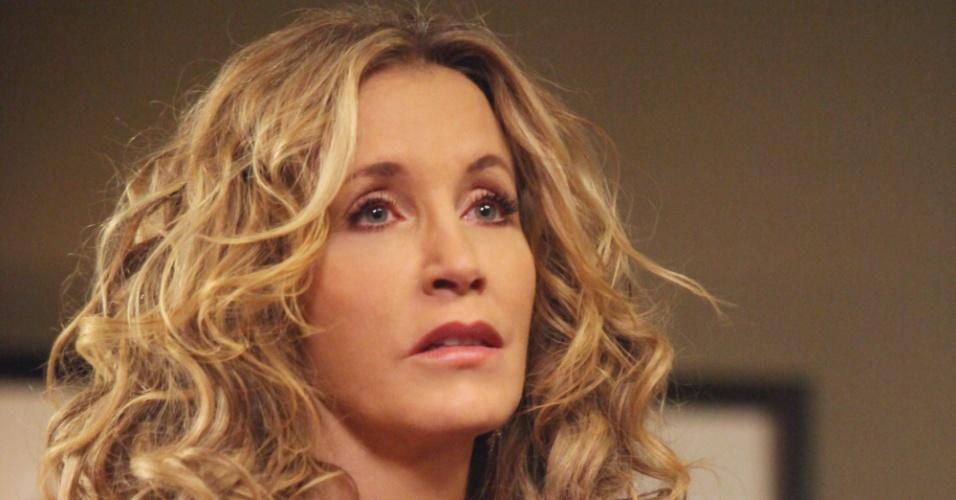 """Lynette Scavo (Felicity Huffman) está na 8º temporada de """"Desperate Housewives"""""""