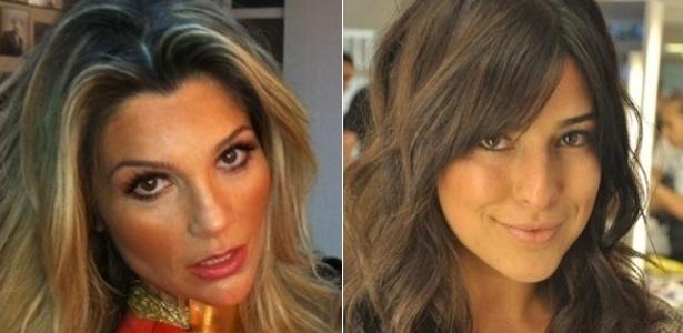 Flavia Alessandra e Fernanda Paes Leme