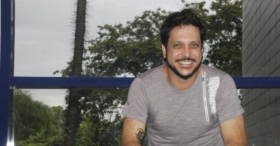 """Lúcio Mauro Filho, do elenco de """"A Grande Família"""" (19/3/2012)"""