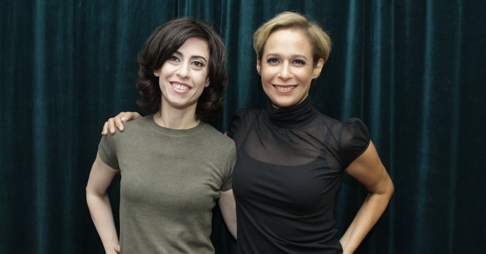 """Fernanda Torres e Andréa Beltrão na coletiva de apresentação da 2ª temporada de """"Tapas e Beijos"""" (21/3/12)"""