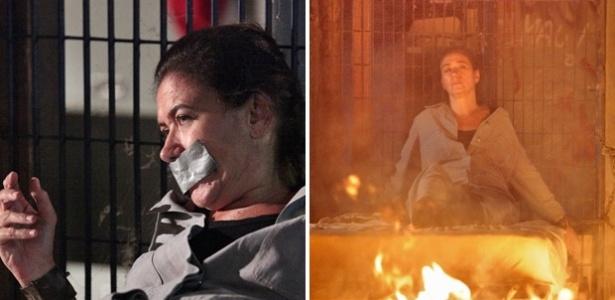 """Griselda é sequestrada por Tereza Cristina e pode morrer queimada em """"Fina Estampa"""" (22/3/12)"""