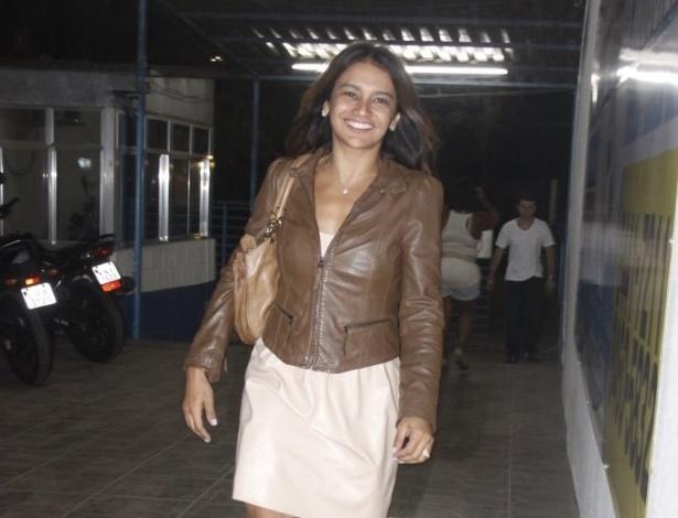 """Para comemorar o fim de """"Fina Estampa"""", Dira Paes, a Celeste, e outros atores se reuniram no Sindicato dos Radialistas, em Jacarepaguá, Rio de Janeiro, para comemorarem. A novela termina nesta sexta-feira , 23 de março (21/3/12)"""