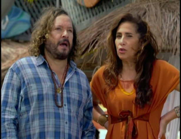 Álvaro e Zambeze veem Tereza Cristina fugindo de barco