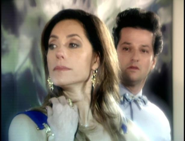 Com a recusa, Tereza Cristina fica magoada com Crô.