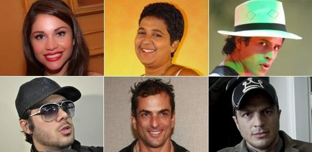 """Vencedores do """"BBB"""": Maria, Cida, Rafinha, Max, Dourado e Bambam"""