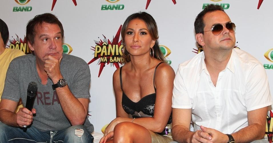 Emilio Surita, Sabrina Sato e o humorista Carioca (27/3/12)
