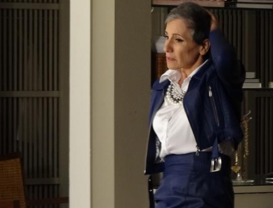"""Cassia Kis Magro em cena de """"Amor Eterno Amor"""" (28/3/12)"""