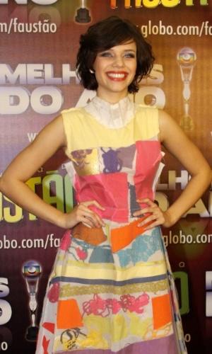 Bruna Linzmeyer concorreu na categoria atriz revelação, mas perdeu para Giovanna Lancelotti (31/3/12)