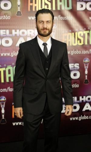 Gabriel Braga Nunes concorre na categoria melhor ator (31/3/12)
