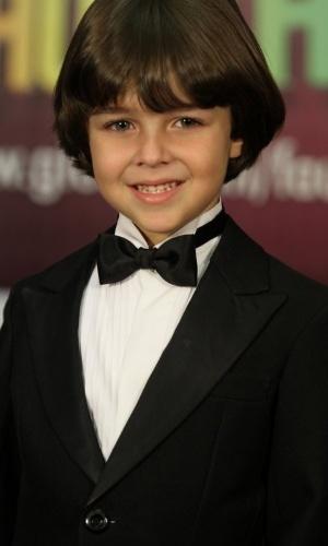 Gabriel Pelícia concorre na categoria ator/atriz mirim com mais duas meninas (31/3/12)