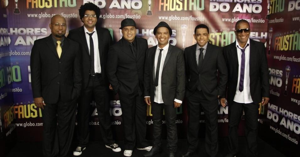 Grupo Bom Gosto concorreu na categoria revelação musical, mas perdeu para Léo Magalhães (31/3/12)