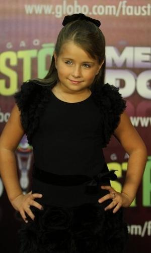 Jesuela Moro concorre na categoria ator/atriz mirim (31/3/12)