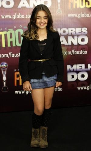 Klara Castanho concorre na categoria ator/atriz mirim (31/3/12)