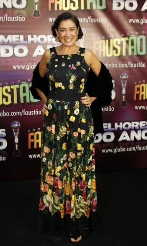 Lília Cabral concorreu na categoria melhor atriz (31/3/12)