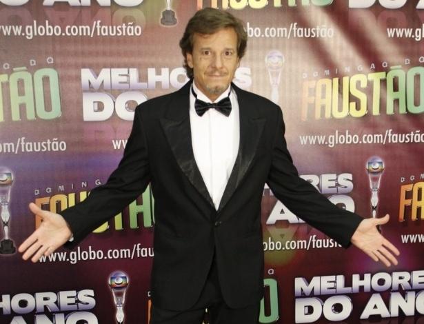 Marcello Novaes concorreu na categoria ator coadjuvante, mas perdeu para Marcelo Serrado (31/3/12)
