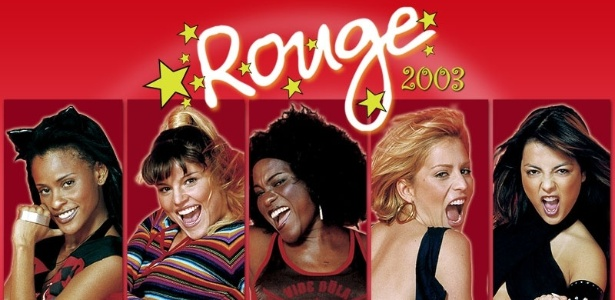 """A banda Rouge, que foi criada no programa """"Popstars"""", do SBT, em 2002"""