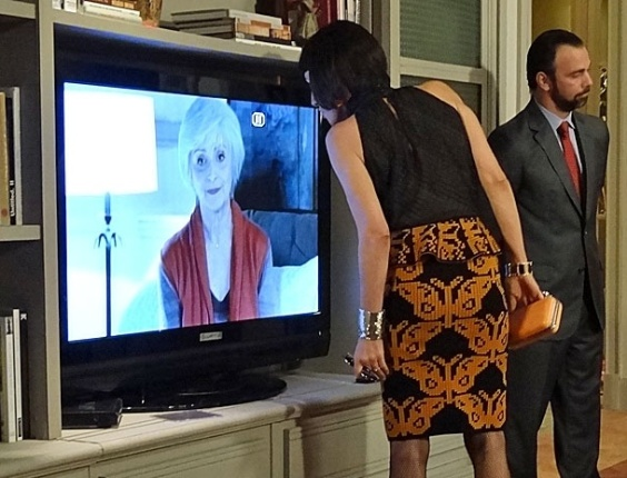 Rodrigo reúne toda a família e amigos de Verbena para a leitura do testamento deixado pela mãe (3/4/12)