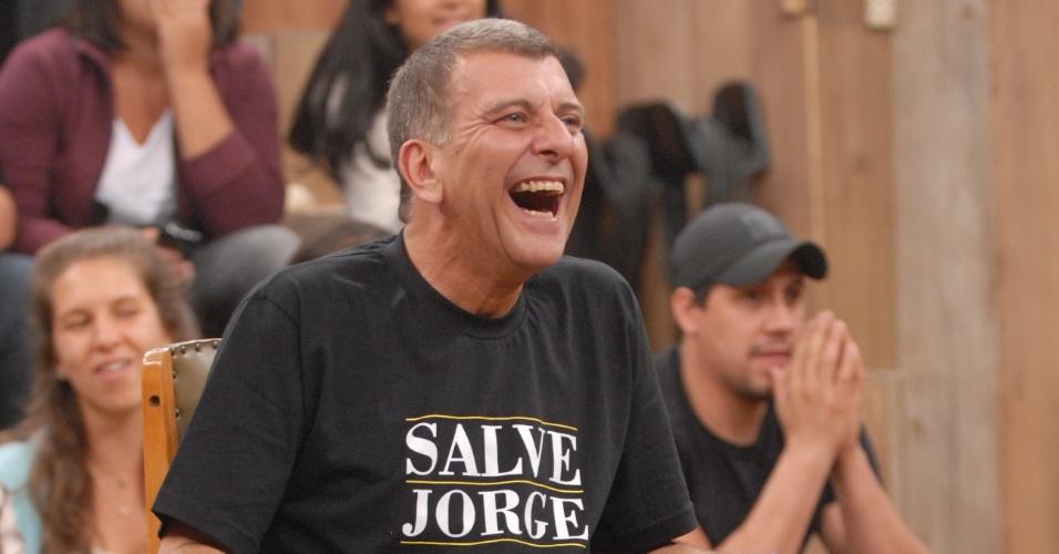 """O diretor Jorge Fernando fala sobre sua carreira nas gravações do programa """"Altas Horas"""" com novo cenário (4/4/12)"""