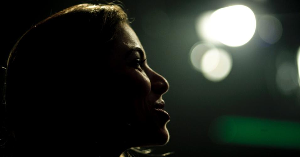 Apesar dos obstáculos, a apresentadora assume que, querendo ou não, tem o dom da comunicação.