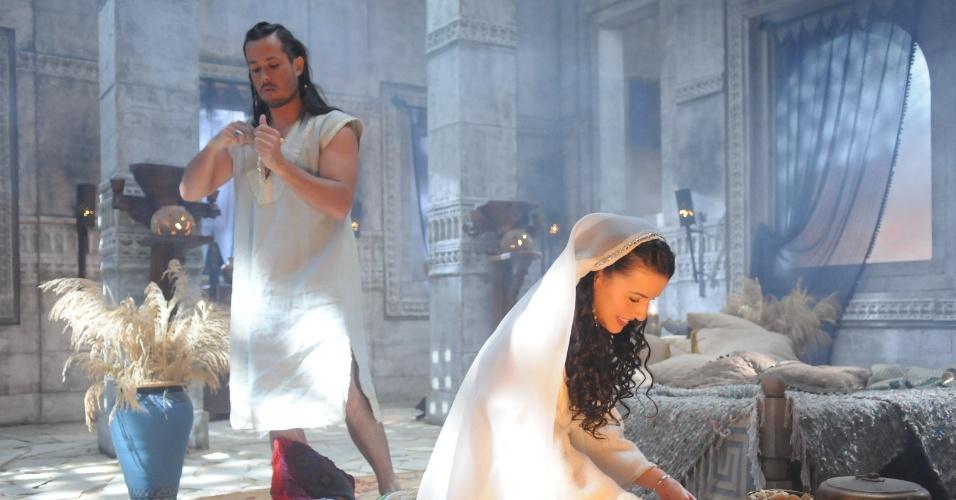 """Veja cena de """"Rei Davi"""" em que filha de José Mayer é estuprada pelo próprio irmão"""