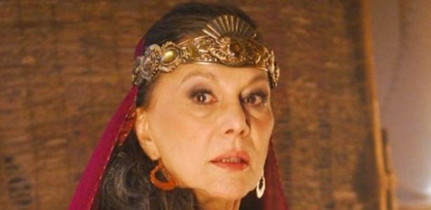A atriz Marly Bueno, morta aos 78 anos (12/04/2012)
