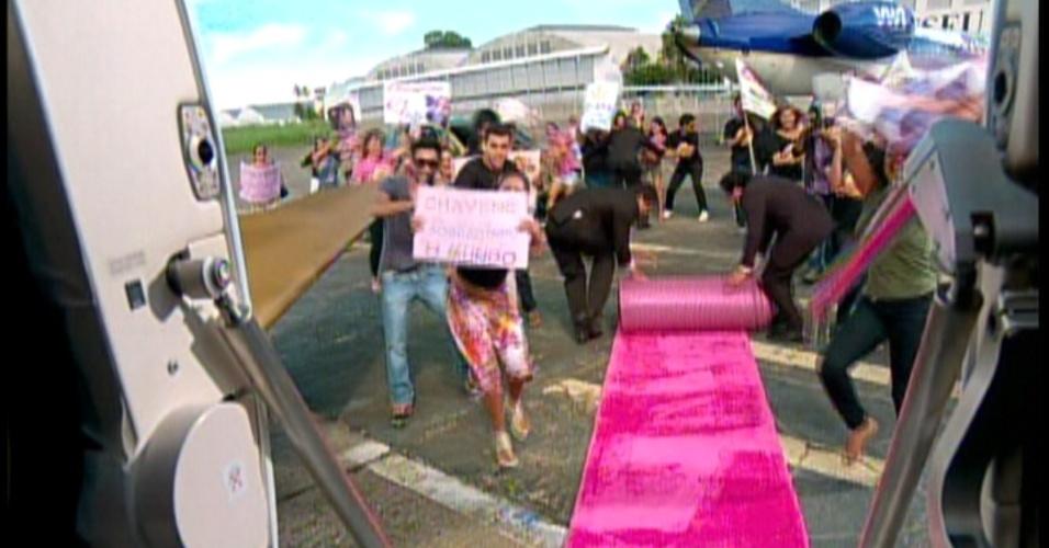 Chayene chega ao Rio de Janeiro