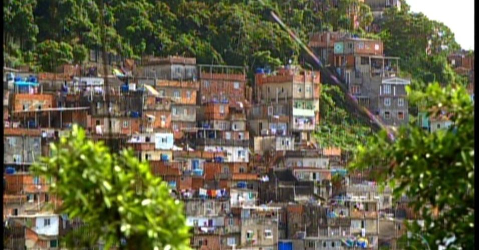 Favela onde Maria da Penha mora