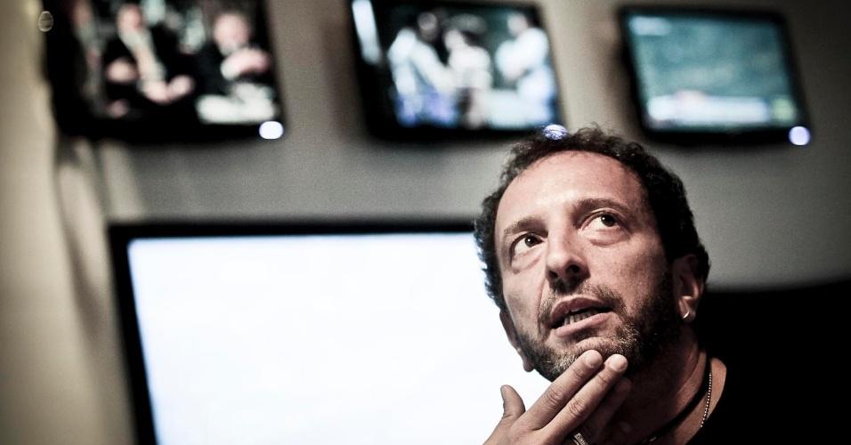 """O argentino Diego Guebel, criador do """"CQC"""", conta, em entrevista exclusiva ao UOL, como ganhou espaço na Band nos últimos quatro anos (11/4/12)"""