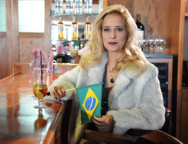 """Paloma Duarte em cena da novela """"Máscaras"""" (abril/2012)"""