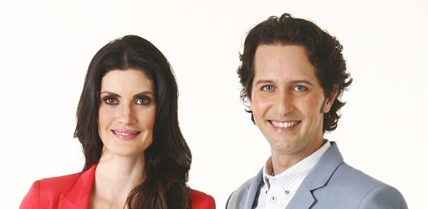 """Isabella Fiorentino e Arlindo Grund em nova temporada do programa """"Esquadão da Moda"""" (21/4/2012)"""