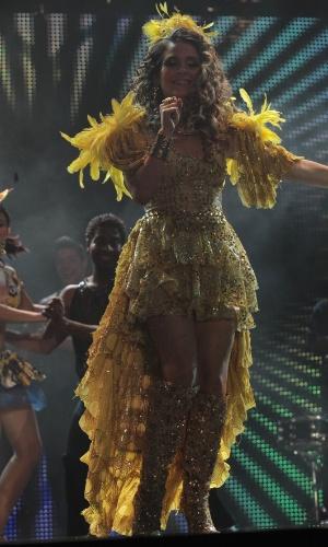 """Claúdia Abreu em cena de """"Cheias de Charme"""" (abril/2012)"""