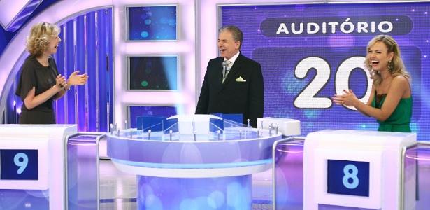 Rafinha Bastos quer Silvio Santos em seu programa, mas o apresentador já recusou convite de Marília Gabriela (22/4/12)
