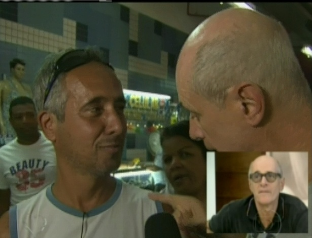 """Marcos Caruso encontrou um """"verdadeiro"""" Leleco no Mercadão de Madureira (25/4/12)"""