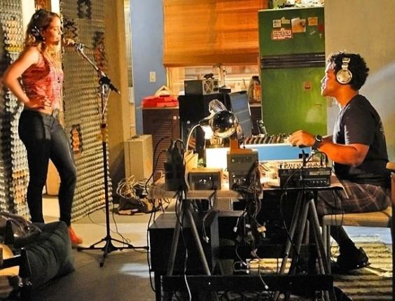 """Em """"Cheias de Charme"""", Rosário grava seu primeiro cd (27/4/12)"""