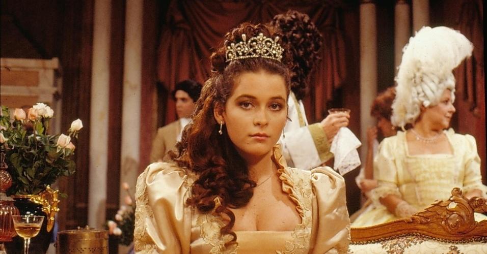 """Cláudia Abreu é Princesa Juliette em """"Que Rei Sou Eu?"""""""