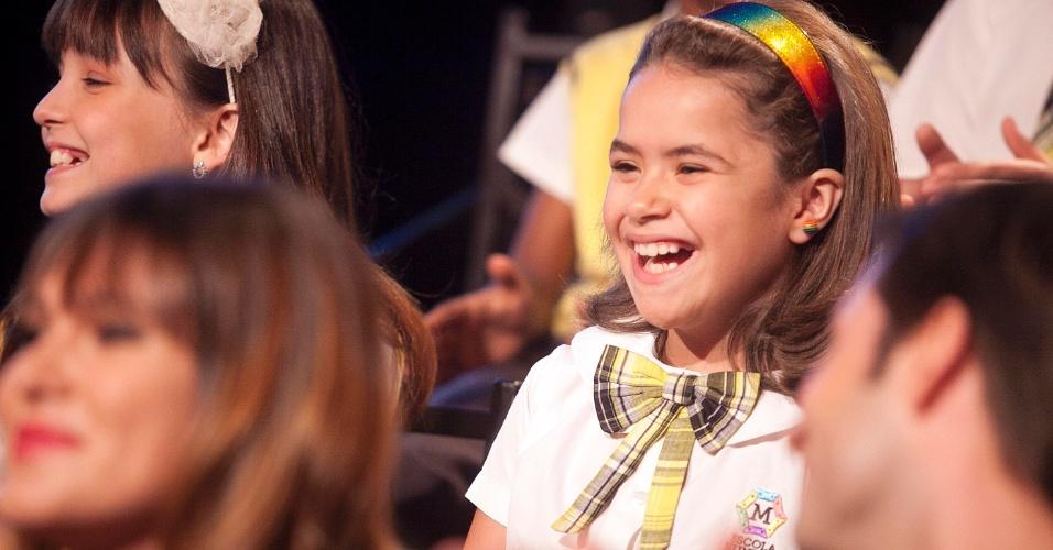 """A apresentadora infantil e atriz mirim Maisa fala do remake de """"Carrossel"""" (7/5/12)"""