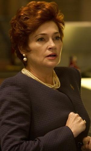 """HBO divulga imagens da quinta temporada do seriado """"True Blood"""" (7/5/12). O seriado estreia dia 10 de junho nos EUA e tem no elenco a atriz Carolyn Hannesy"""