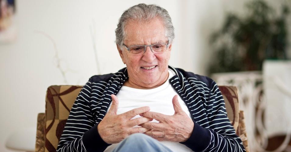 """""""Minhas inspirações estão no cotidiano. O Professor Bartolomeu foi inspirado no meu avô, o Bronco no motorista do meu pai (personagens vividos por Golias), o Lafon [Jorge] era figurante dos 'Trapalhões' e a própria pessoa dele me trouxe inspiração para criar a 'Vera Verão'. Os personagens são da vida e esse é o grande segredo"""" (4/5/12)"""
