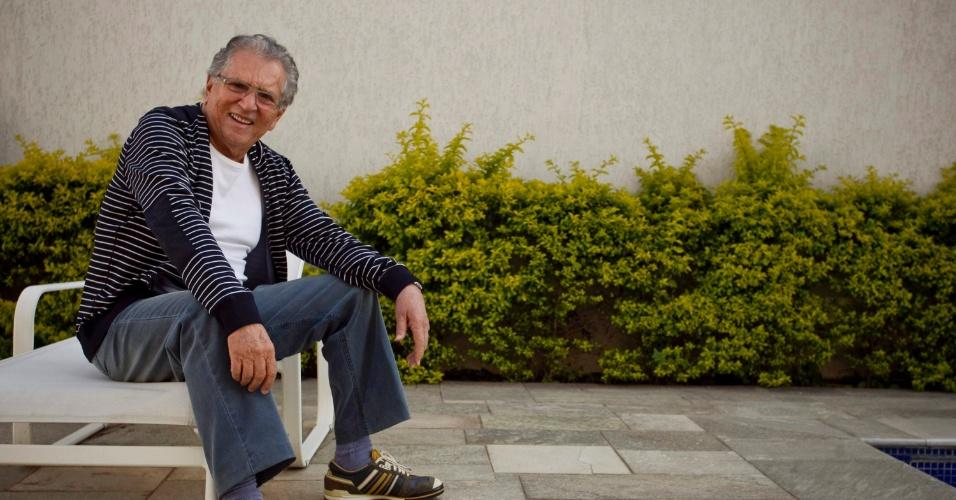 """""""Não assisto o programa do Renato Aragão, 'Turma do Didi', por problemas de saudade, não consigo imaginar ele sem o Mussum e o Zacarias. Eles marcaram muito a minha vida e prefiro não assistir"""" (4/5/12)"""