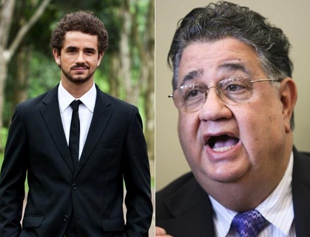 Felipe Andreoli leva tapa na cara do deputado federal, Marcio Reinaldo, e faz boletim de ocorrência (8/5/12)