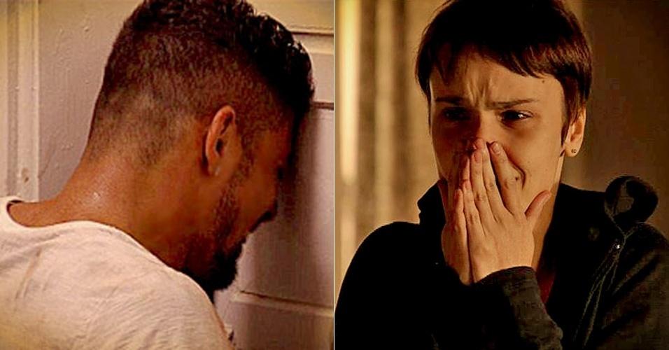 """Em """"Avenida Brasil"""", Jorginho implora para Nina não o abandonar (10/5/12)"""