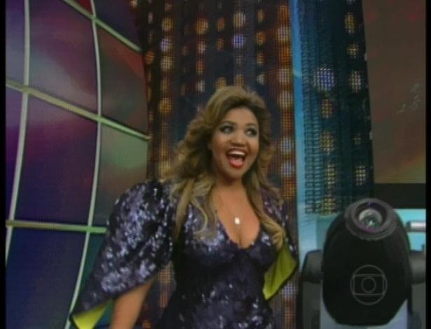 """A cantora Gaby Amarantos é uma das participantes da nona edição da """"Dança dos Famosos"""" (13/5/12)"""