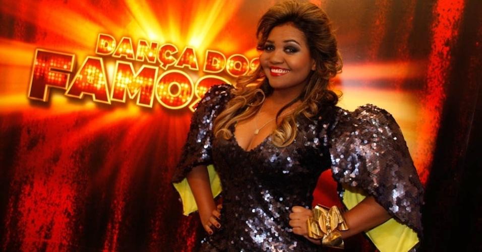 """A cantora Gaby Amarantos vai participar da nona edição da """"Dança dos Famosos"""" (13/5/12)"""