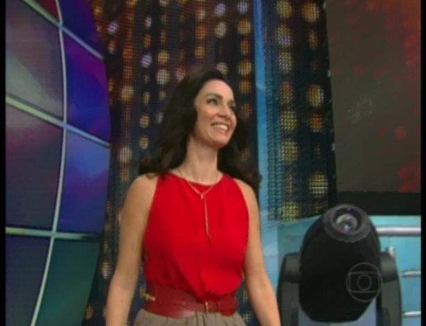 """Claudia Ohana é uma das participantes da nona edição da """"Dança dos Famosos"""" (13/5/12)"""