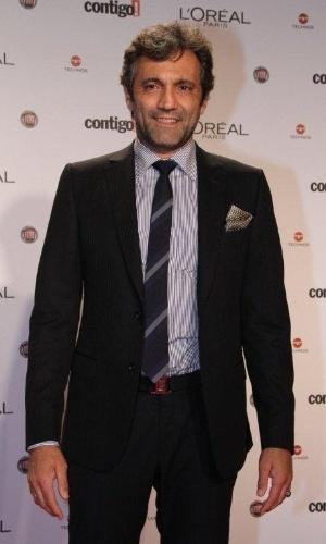 Domingos Montagner no 14º Prêmio Contigo! de TV, no hotel Copacabana Palace, no Rio de Janeiro (14/5/2012)